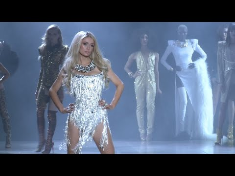 Paris Hilton rocks the catwalk