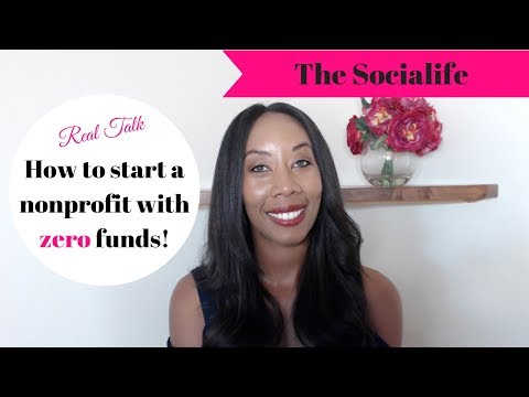 How to start a nonprofit with no money! #nonprofit #start