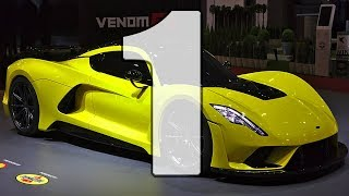 TOP 5 Fastest Cars In The World 2019