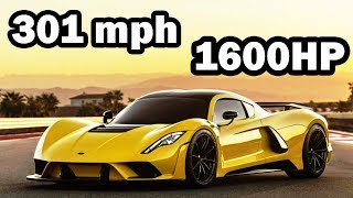301mph Hennessey Venom F5 Story-FASTEST Car In The World 2018