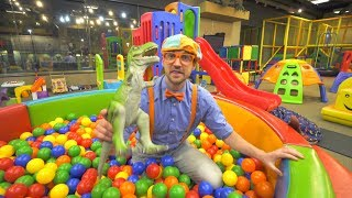 Blippi goes to the Kideo Indoor Play Place | Educational Videos for Toddlers