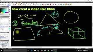 how to make educational videos|| like khan academy style|| || #studypoint, #educationalvideo