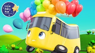 Learn Colors! | Educational Videos for Children | Baby Songs | Go Buster | Little Baby Bum