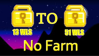 How to profit daily 2019[no farm/13 wls to 51 wls] Growtopia