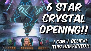 6 Star Crystal & 5 Star Featured Crystal Opening! - Marvel Contest of Champions