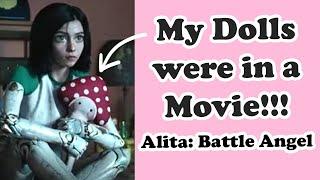 My Dolls were Featured in a Movie: Alita Battle Angel 2019