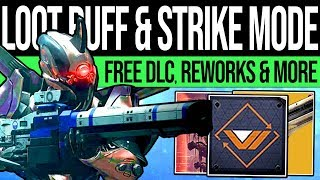 Destiny 2 | DLC CHANGES & FEATURED STRIKES! Loot Buff, Free DLC, Undying Mind, Ornaments & More!