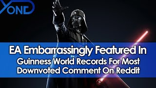 EA Embarrassingly Featured In Guinness World Records For Most Downvoted Comment On Reddit