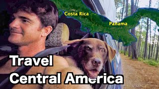Travel Through Central America With A Dog | Panama Border Crossing to David Ep.65