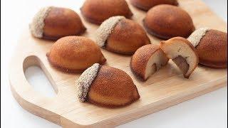 栗のフィナンシェの作り方 Chestnut Financier*卵白消費レシピ|HidaMari Cooking