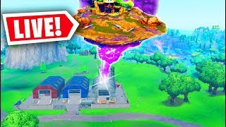 *NEW* FORTNITE VISITOR ROCKET EVENT HAPPENING RIGHT NOW! SEASON 10 CUBE (Fortnite Battle Royale)