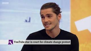 Jack Harries on the BBC - Climate Change and Activism