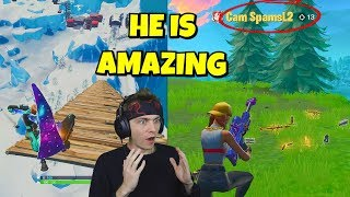 i died from MAX HEIGHT and spectated this amazing controller player... (shocking)