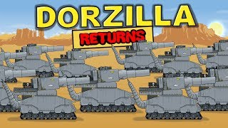 """Dorzilla Returns"" Cartoons about tanks"