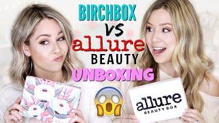 UNBOXING - BIRCHBOX VS ALLURE BEAUTY September 2019