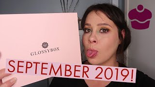 GLOSSYBOX SEPTEMBER 2019! FOOD BEAUTY EDITION
