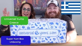 Universal Yums Unboxing - Greece- September 2019 - Beardly Honest - Super Yum Box