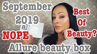 NOT the best of beauty! Allure box/September 2019