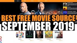 BEST FREE MOVIE SOURCE SEPTEMBER 2019