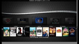 THE NEW KODI BUILD FOR   SEPTEMBER 2019 WITH TOP KODI ADDONS  -ENTITY