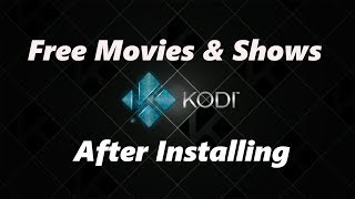 How to Find Free Movies & TV Shows After Installing Kodi on Firestick - Sept 2019