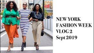 NEW YORK FASHION WEEK VLOG 2 SEPTEMBER 2019 | MONROE STEELE