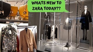 ZARA NEW AUTUMN WOMENS FASHION COLLECTIONS SEPTEMBER 2019 * BAGS * SHOES * DRESSES