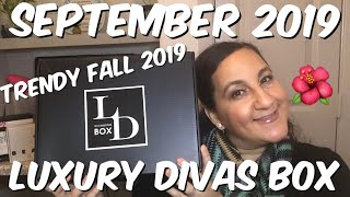LUXURY DIVAS BOX SEPTEMBER 2019 FALL FASHION TRENDS THAT ARE EASY TO WEAR IN 2019!