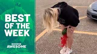 Watermelon Crushing, Balance Exercises & More   Best of the Week