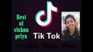 Trending Tiktok videos September 2019🔥🔥🔥 | Best of vishnu priya tiktok videos