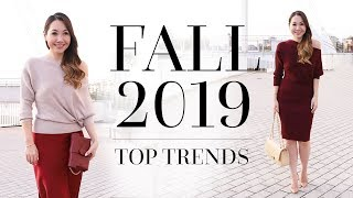 Fall / Autumn 2019 Fashion Trends | Trends You NEED To Know