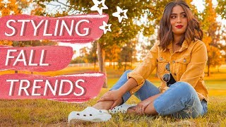 Styling Fall Trends 2019 // wearable fall trend outfit ideas ♡