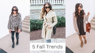5 Fall Trends To Actually Wear! 2019