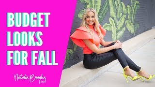 FALL FASHION TRENDS 2019 On A Budget