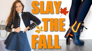 6 FALL fashion trends to wear and SLAY in 2019!