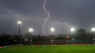 Soccer Players Get STRUCK By Lightning DURING Match