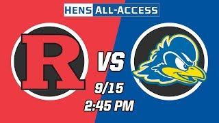 Delaware Women's Soccer vs Rutgers