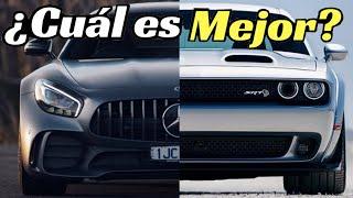 MUSCLE CARS VS EUROPEOS ¿Cuáles Autos son Mejores y Por qué?| Velocidad Total