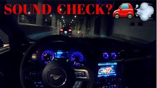 Muscle Cars TERRORIZING underground TUNNEL!!