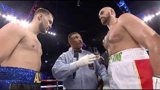 Tyson Fury gets nasty gash in win over Otto Wallin | Fight Highlights