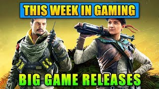 Big Game Releases - This Week In Gaming | FPS News