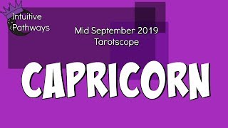A Battle Is Brewing.  CAPRICORN Mid September 2019 Tarot Reading