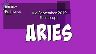 Moving On From The Bad Sh*T!  ARIES Mid September 2019 Tarot Reading