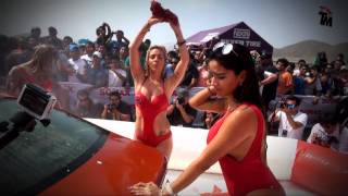 Fiorella Alzamora, Xoana González y Paula Ávila en Sexy Car Wash de Sonax