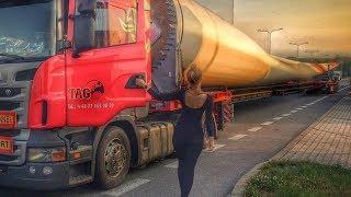 Amazing Lady Truck Driver Skills. Incredible Woman Trucks Drivers