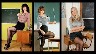Very Sexy Teachers in my School - I cannot concentrate. Help me !
