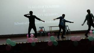 HCU MCA TEACHERS DAY DANCE PERFORMANCE 2019: #MCA SEXY