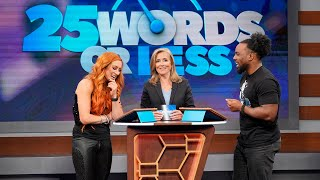 """Get an exclusive look at WWE Superstars on """"25 Words or Less"""""""