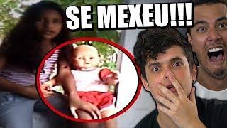 11 BONECAS POSSUÍDAS que foram gravadas MEXENDO SOZINHAS !!