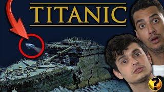 VEJA COMO O TITANIC foi encontrado 73 ANOS DEPOIS DE NAUFRAGAR !!